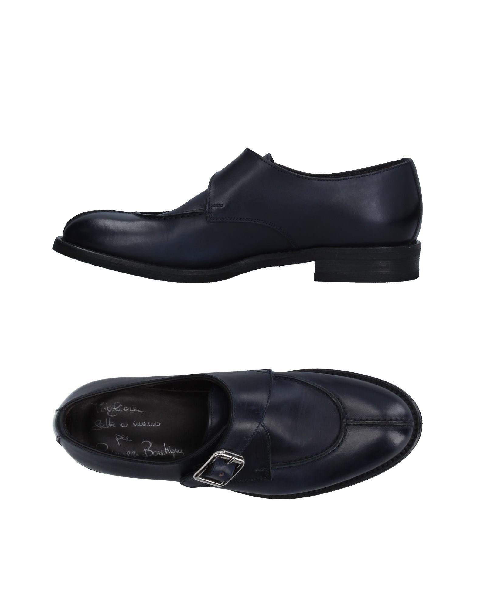 VIBRAM Loafers in Dark Blue
