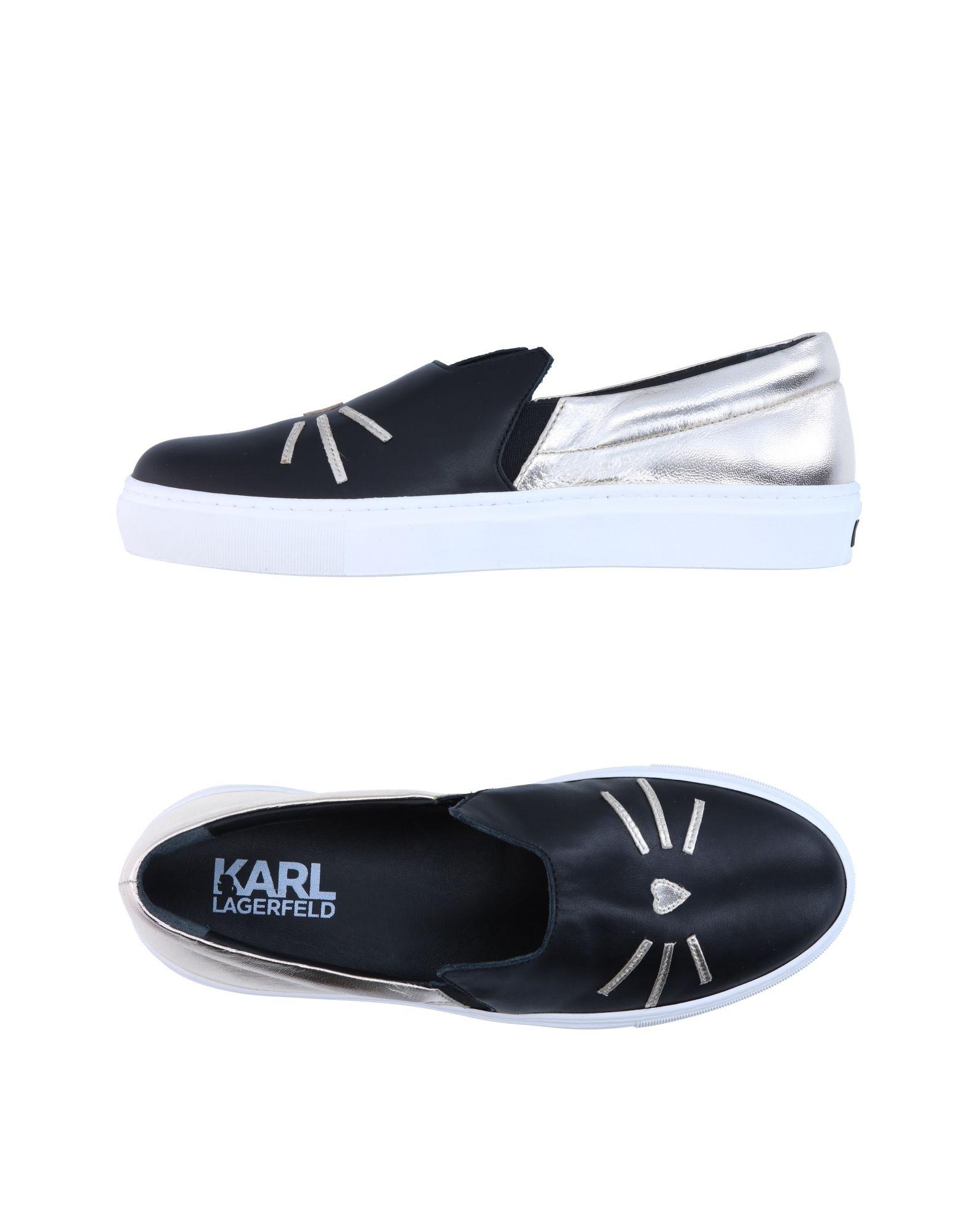 KARL LAGERFELD Низкие кеды и кроссовки