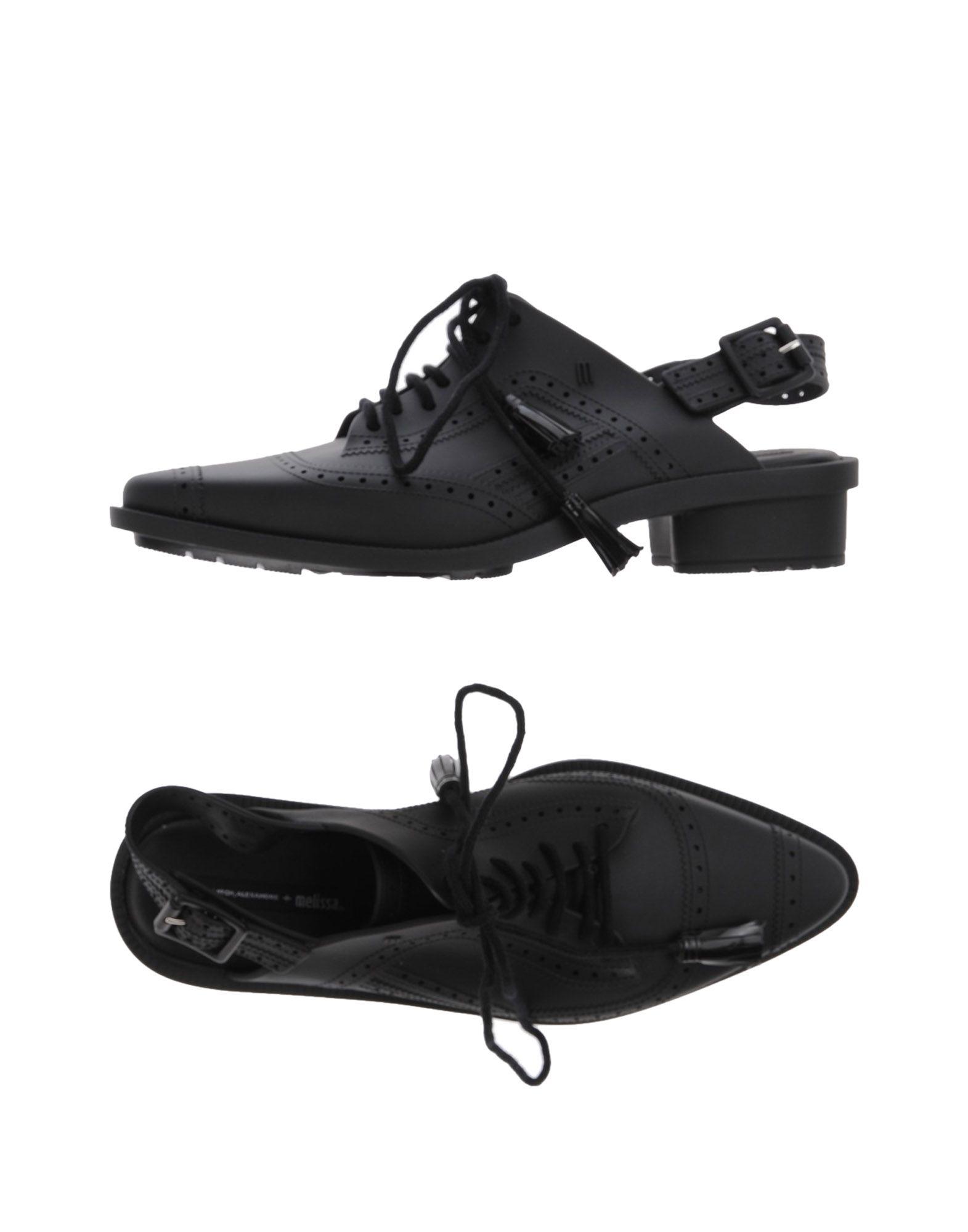 MELISSA + ALEXANDRE HERCHCOVITCH Обувь на шнурках melissa обувь на шнурках