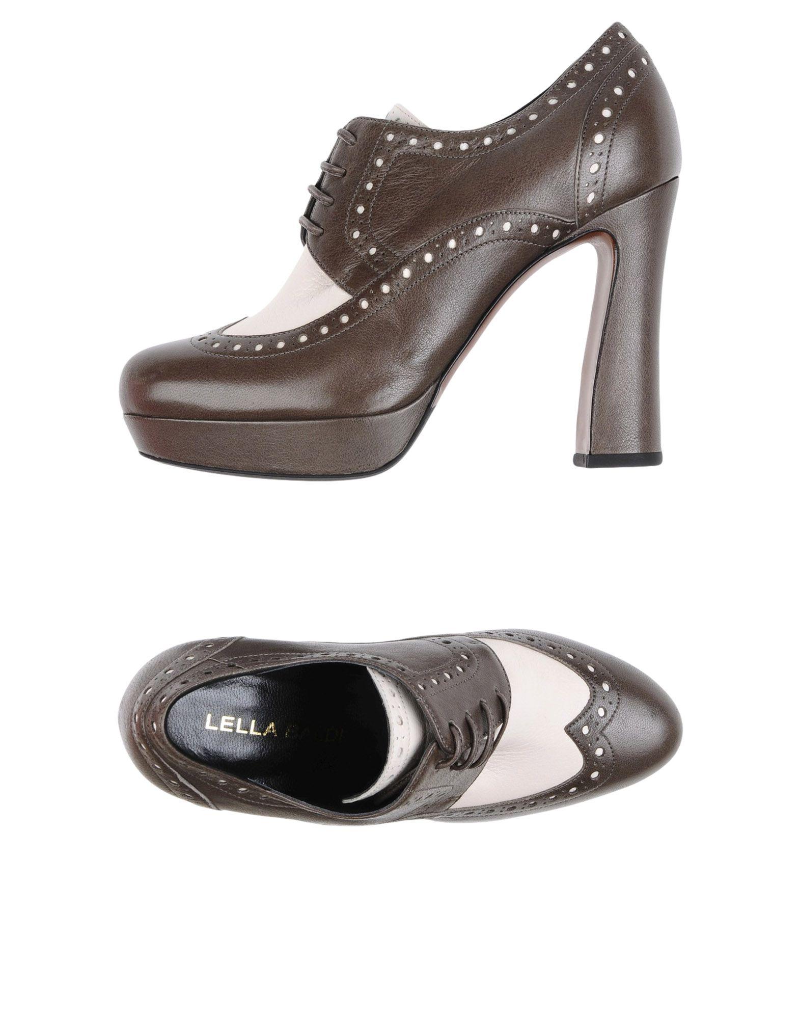 LELLA BALDI Обувь на шнурках цены онлайн
