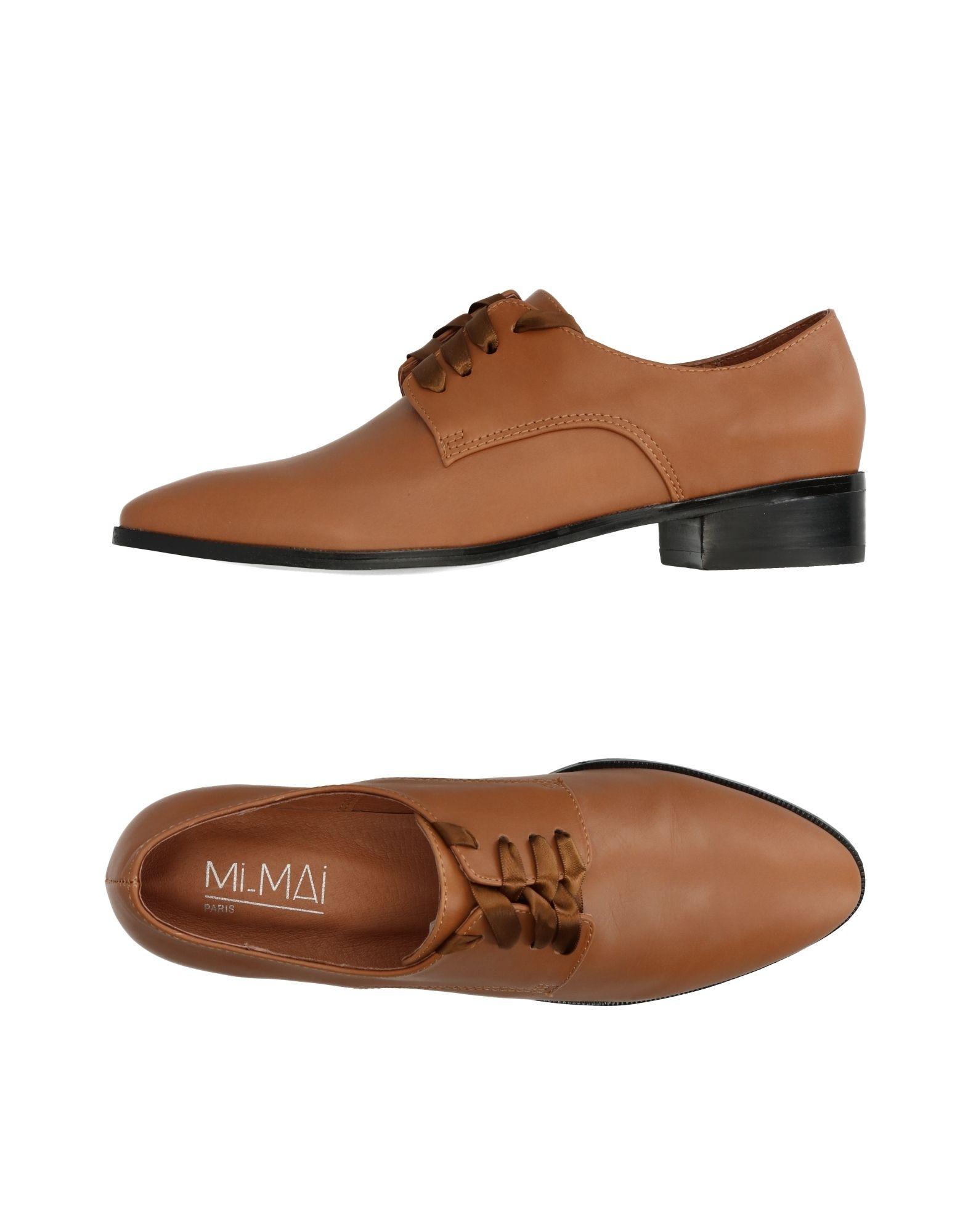 MI/MAI Обувь на шнурках 63 rose de mai