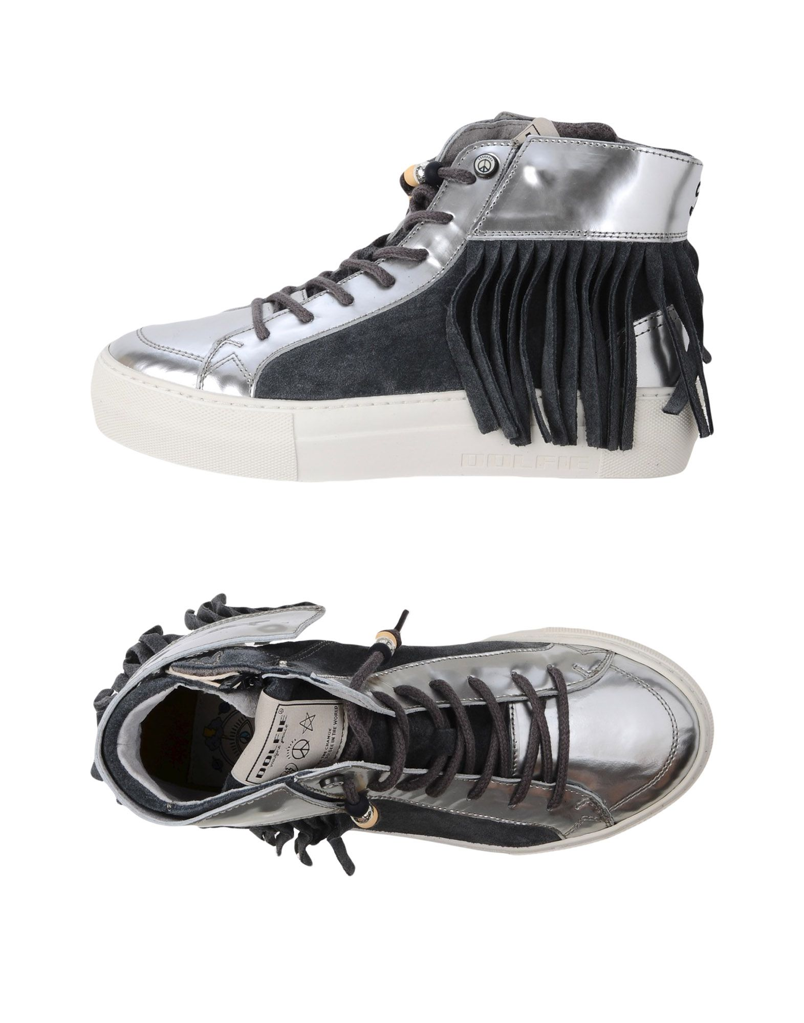 DOLFIE Высокие кеды и кроссовки pierre hardy высокие кеды и кроссовки