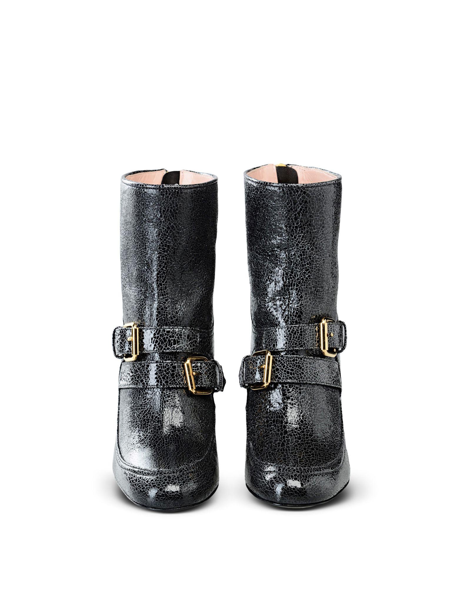 BOUTIQUE MOSCHINO Полусапоги и высокие ботинки ботинки moschino ботинки