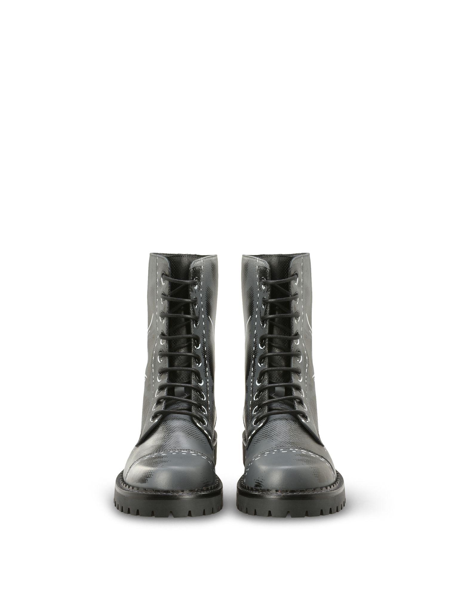 Фото MOSCHINO Полусапоги и высокие ботинки. Купить с доставкой
