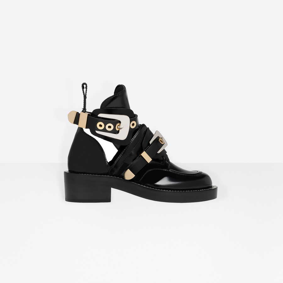 BALENCIAGA Ceinture Ankle Boots Ankle boot Woman f