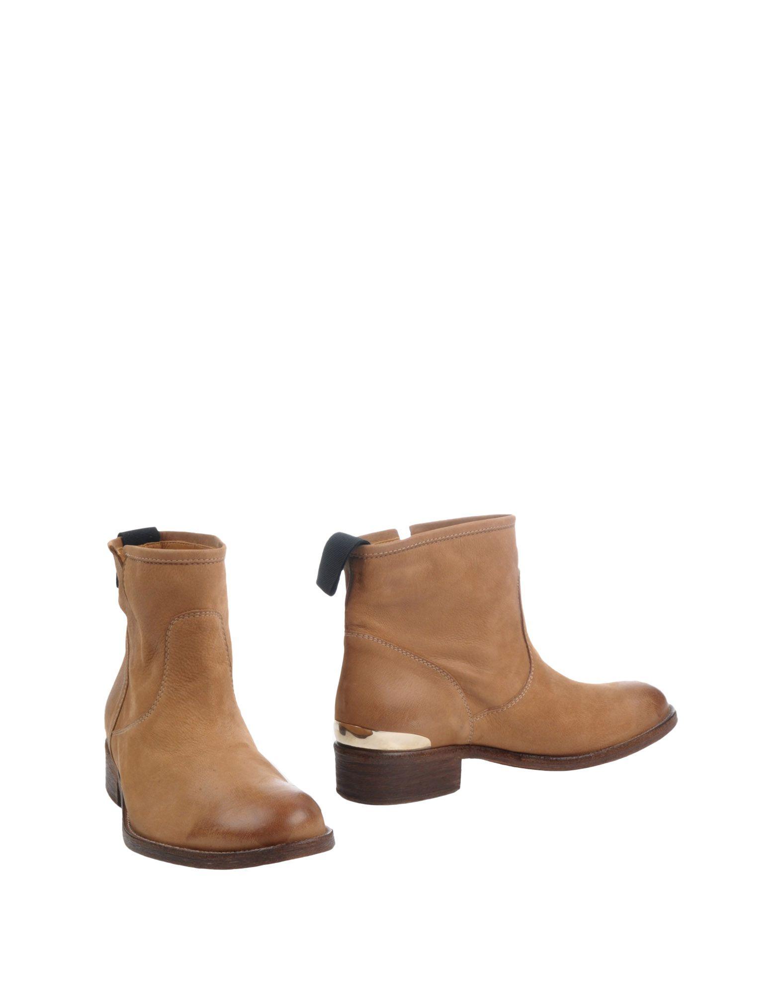 цена VIA ROMA 15 Полусапоги и высокие ботинки онлайн в 2017 году