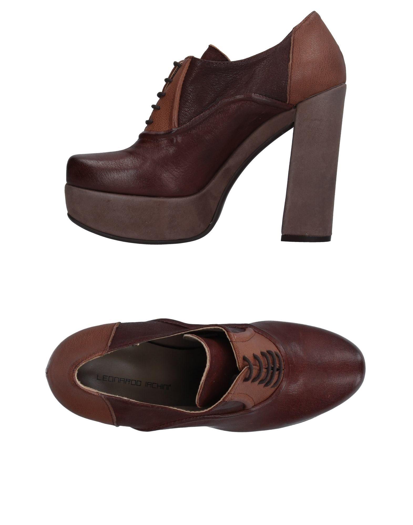 где купить LEONARDO IACHINI Обувь на шнурках по лучшей цене
