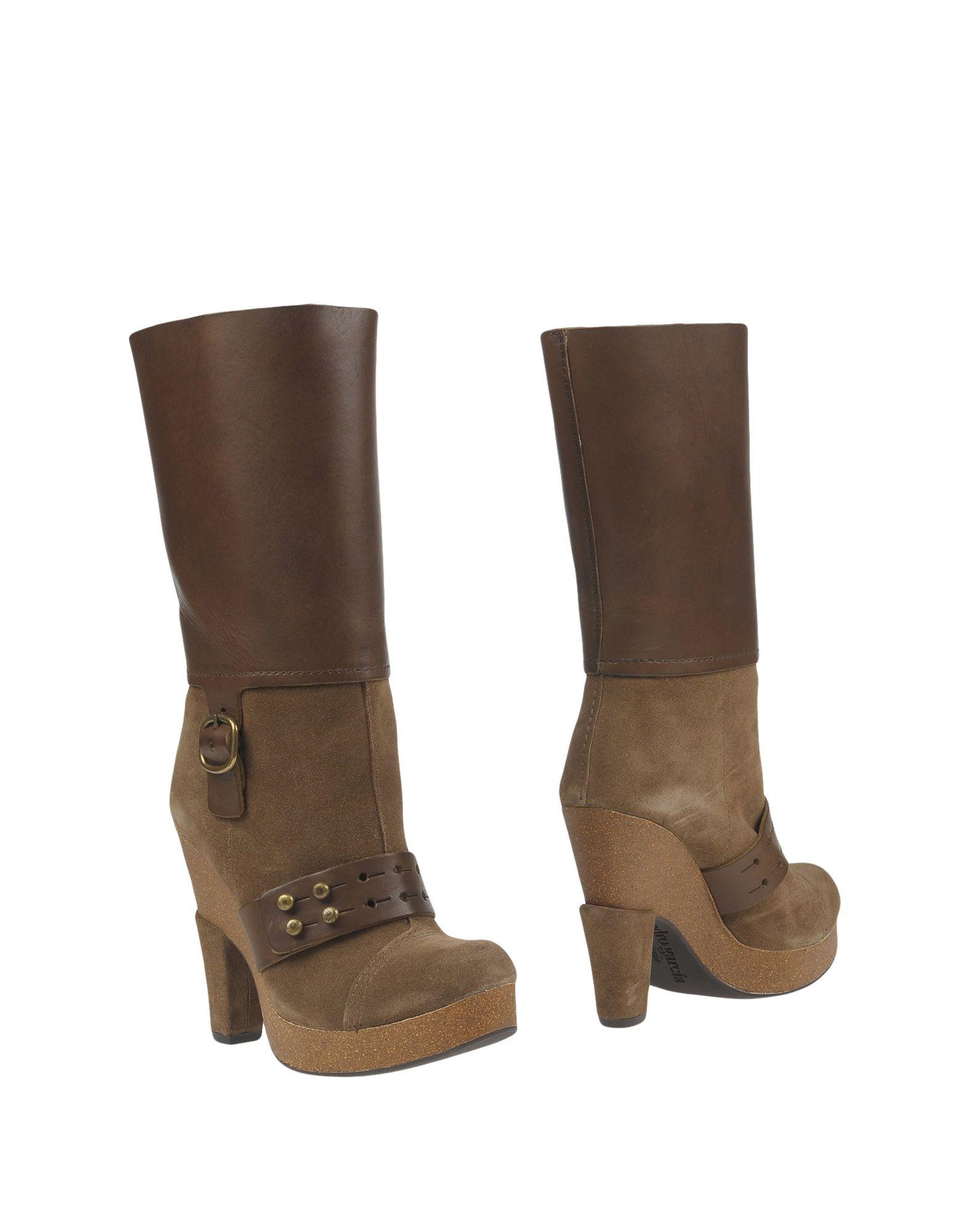 PEDRO GARCÍA Полусапоги и высокие ботинки pedro garcía низкие кеды и кроссовки