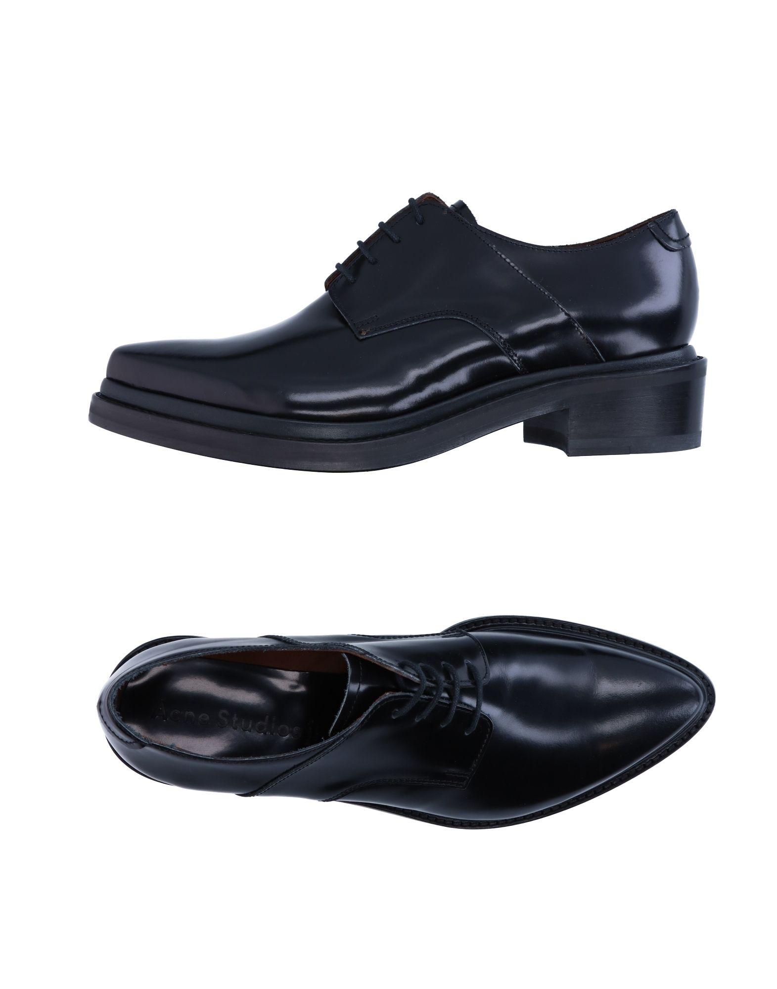 ACNE STUDIOS Обувь на шнурках acne studios кожаная куртка myrtle