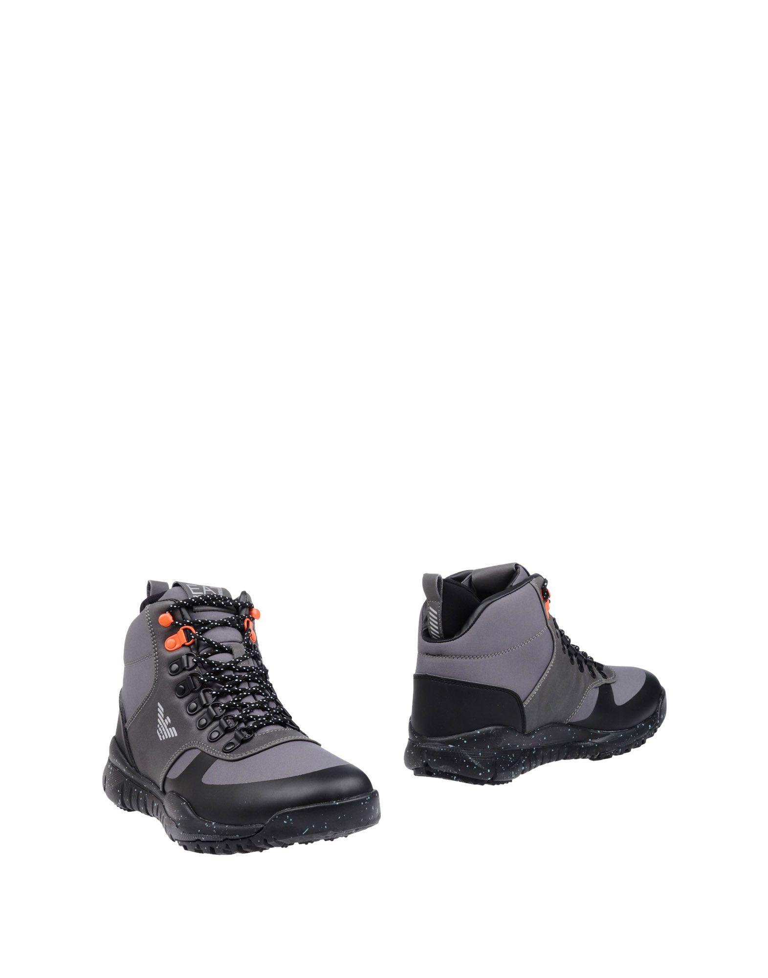 ФОТО ea7 полусапоги и высокие ботинки