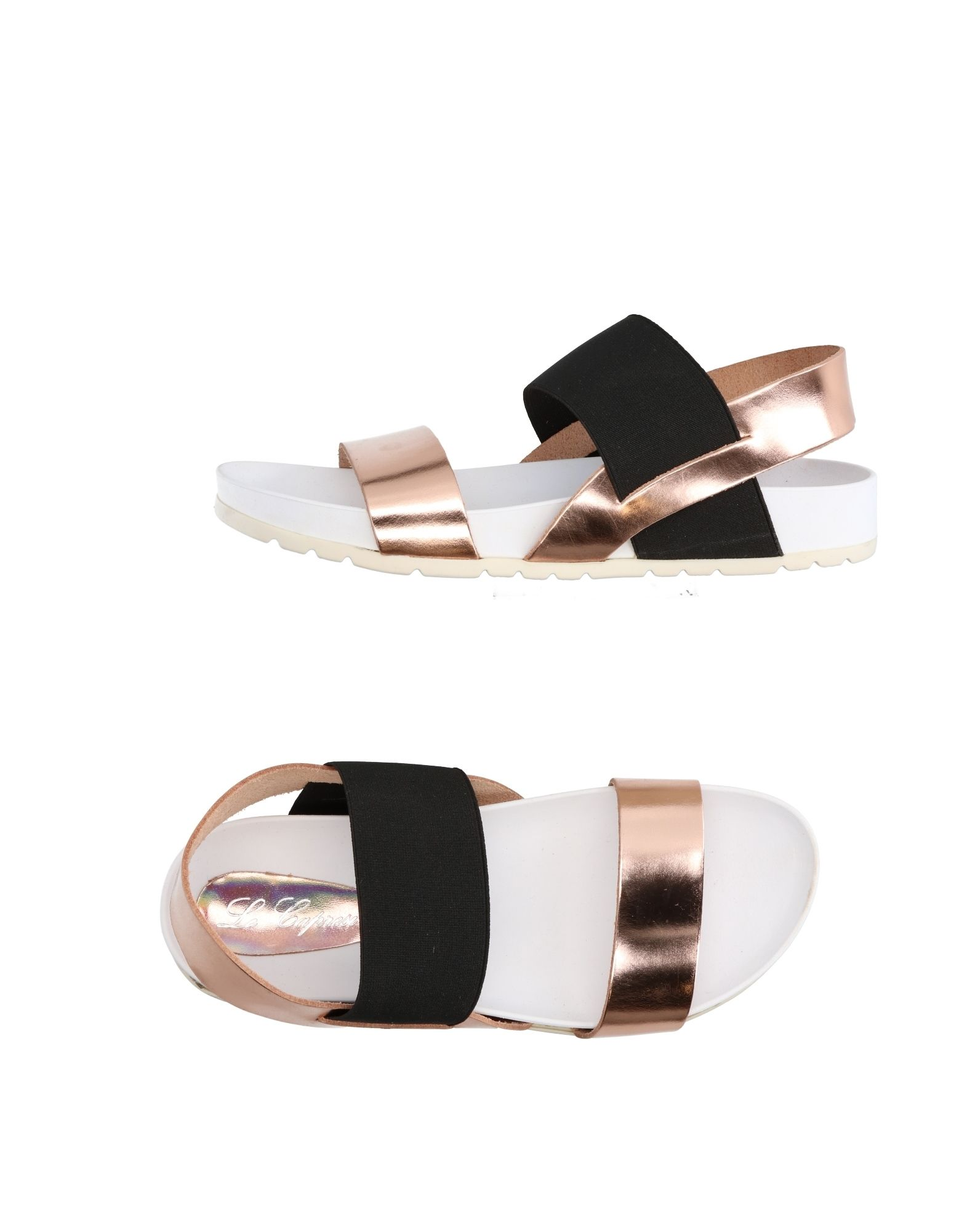 LE CAPRESI Sandals in Copper