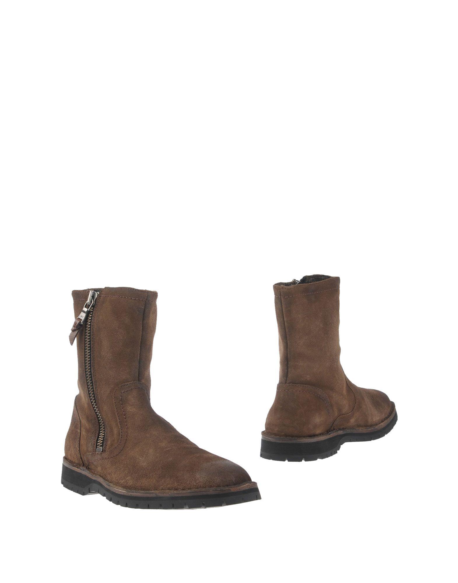 Фото JOHN VARVATOS ★ U.S.A. Полусапоги и высокие ботинки. Купить с доставкой