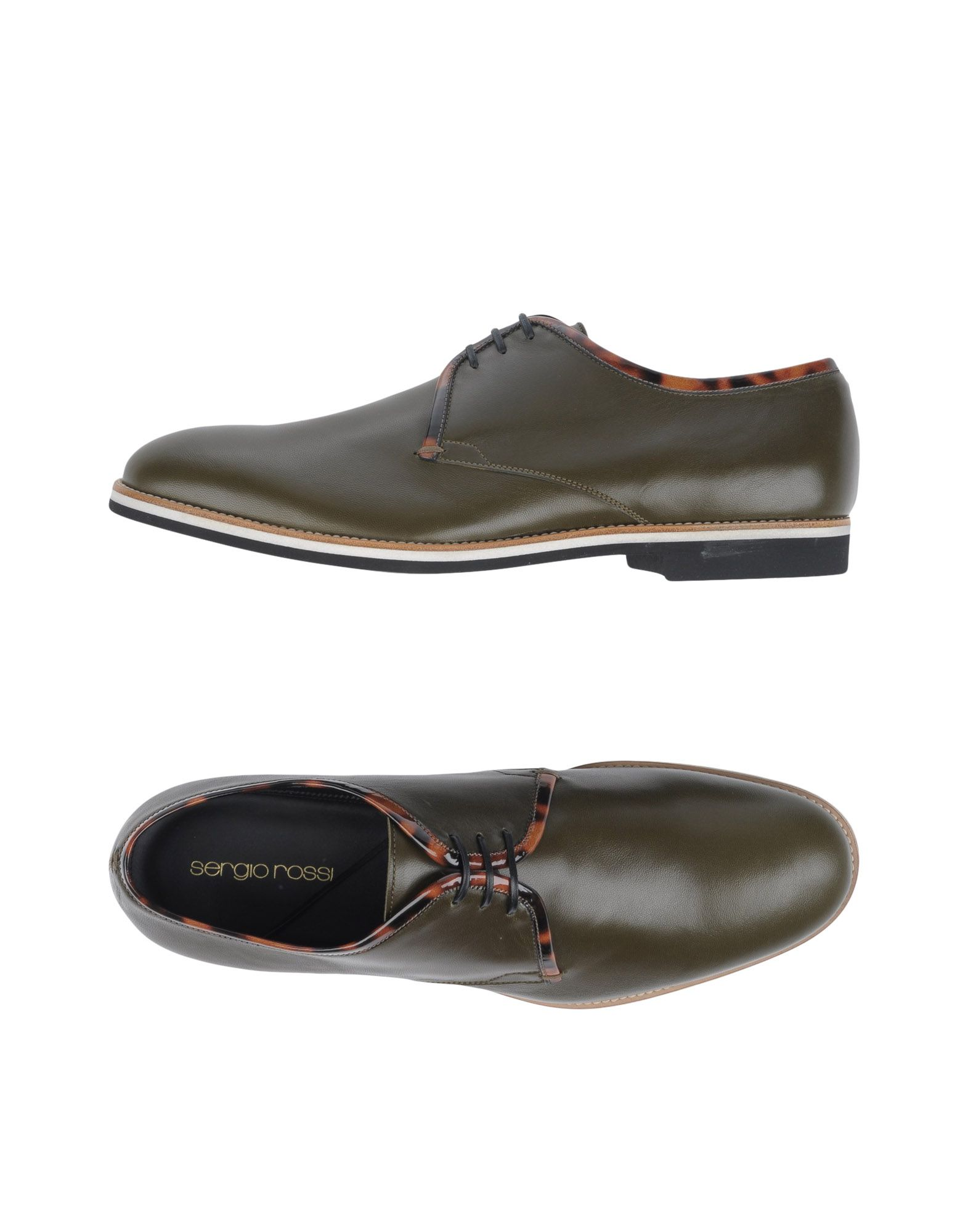 где купить  SERGIO ROSSI Обувь на шнурках  по лучшей цене