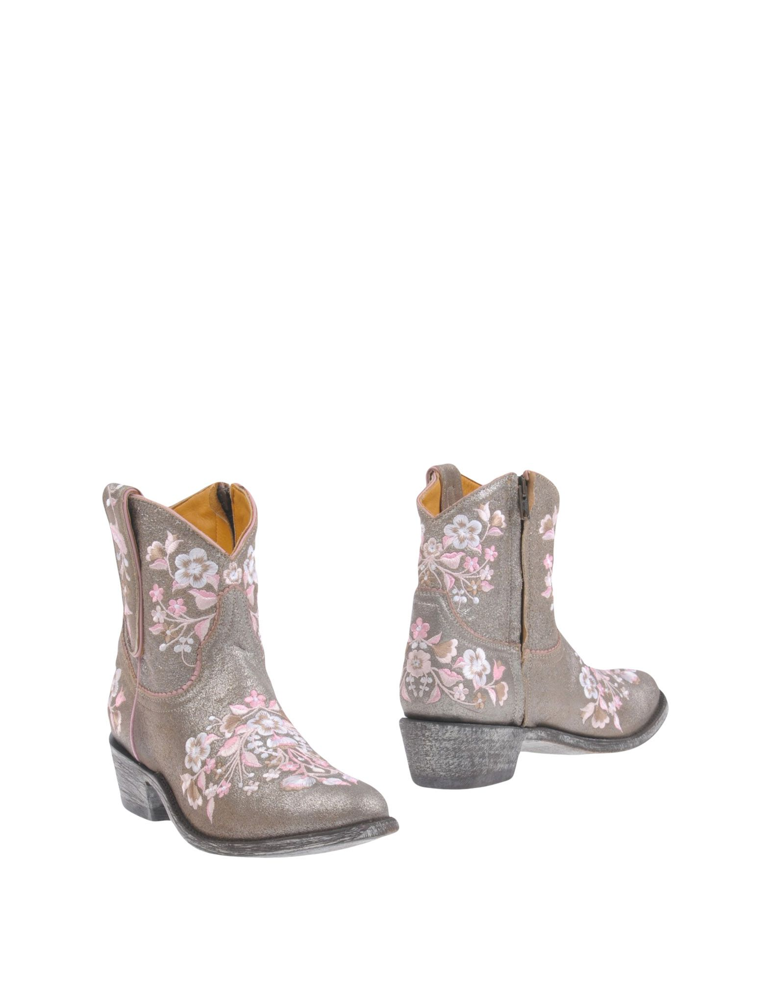MEXICANA Ankle Boot in Silver