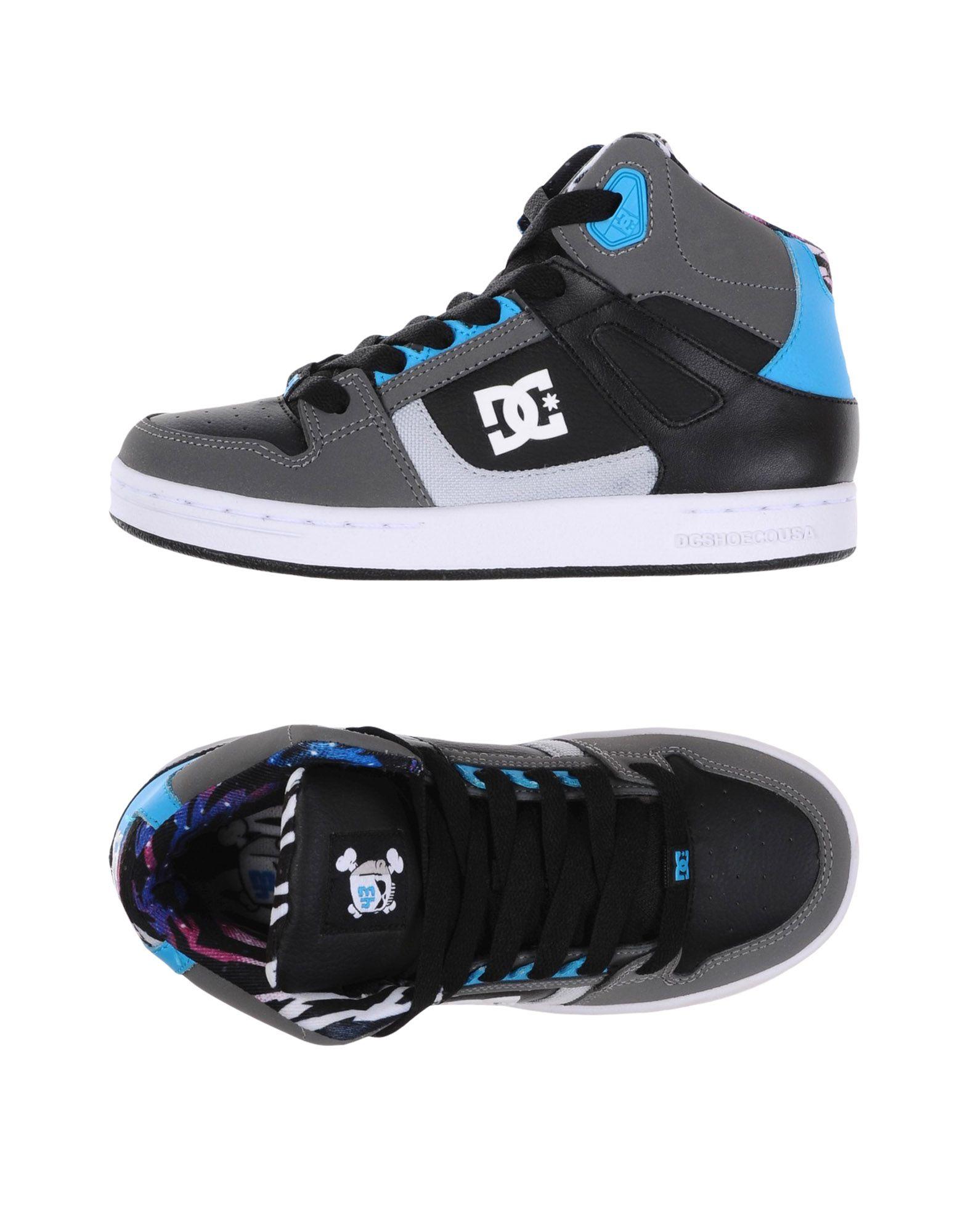 DC SHOECOUSA Высокие кеды и кроссовки кеды кроссовки высокие детские dc pure ht se ev black multi