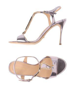 SERGIO ROSSI Damen Sandale Farbe Lila Größe 6