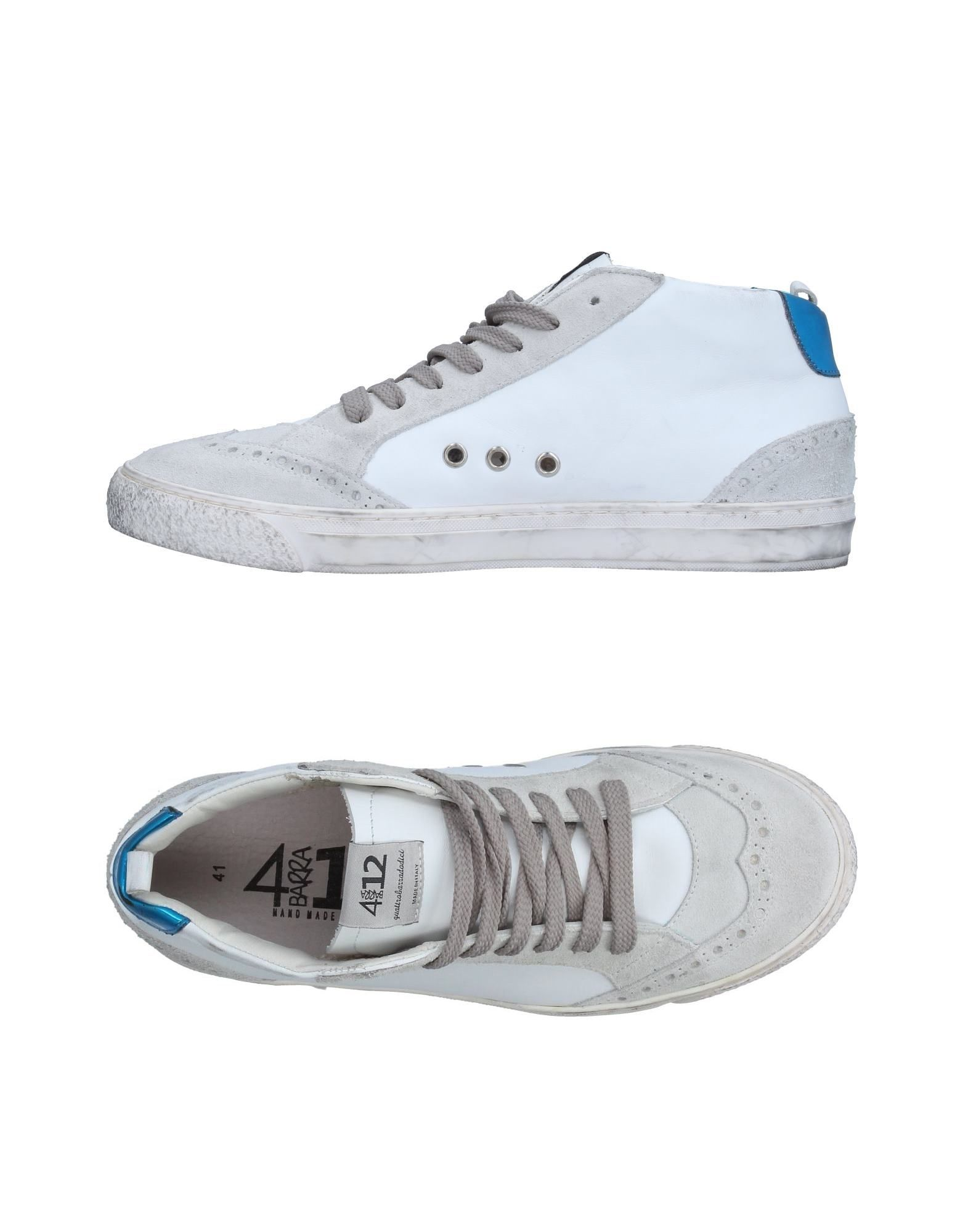 QUATTROBARRADODICI Высокие кеды и кроссовки кеды кроссовки высокие dc council mid tx stone camo