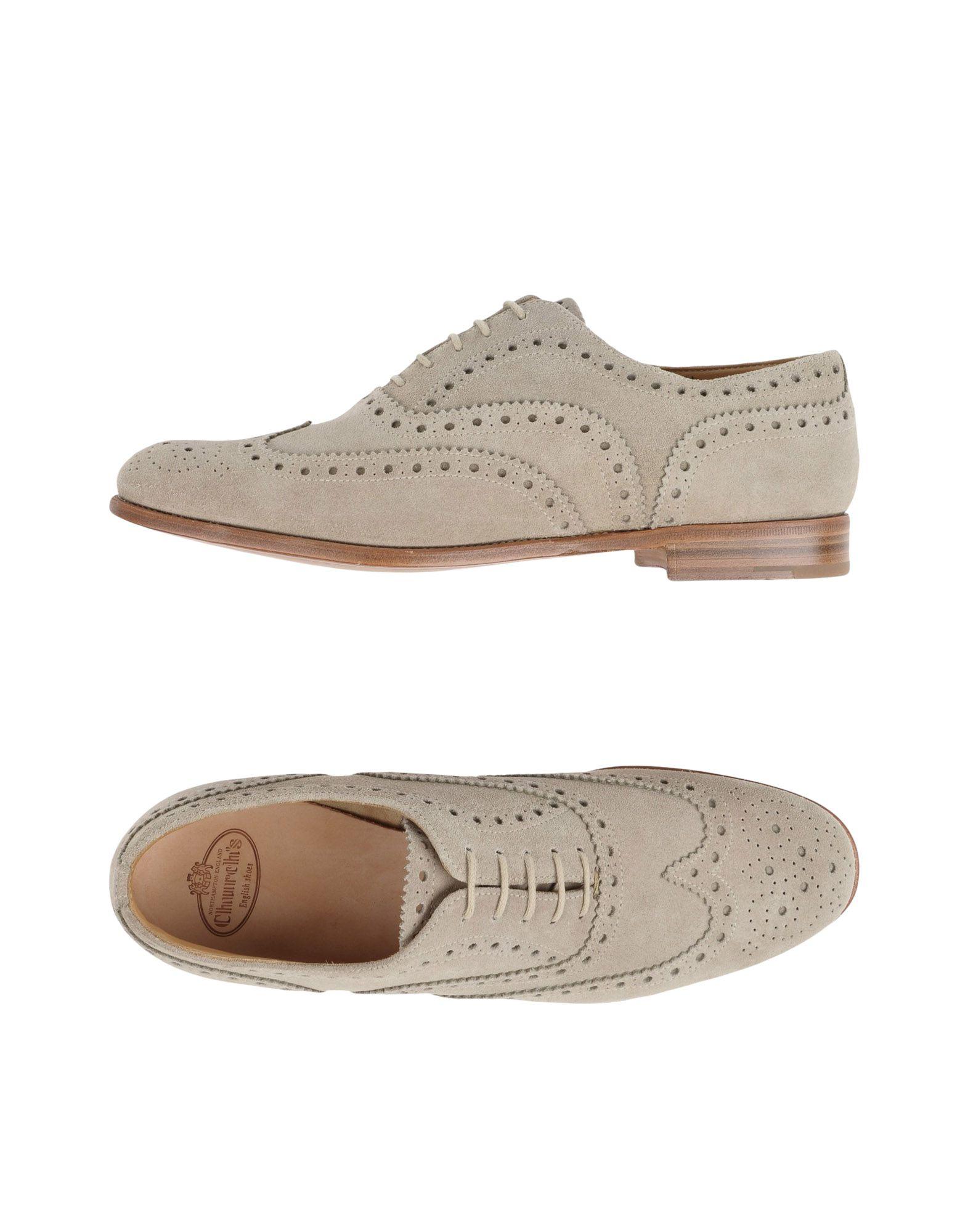 CHURCH´S Damen Schnürschuh Farbe Beige Größe 3