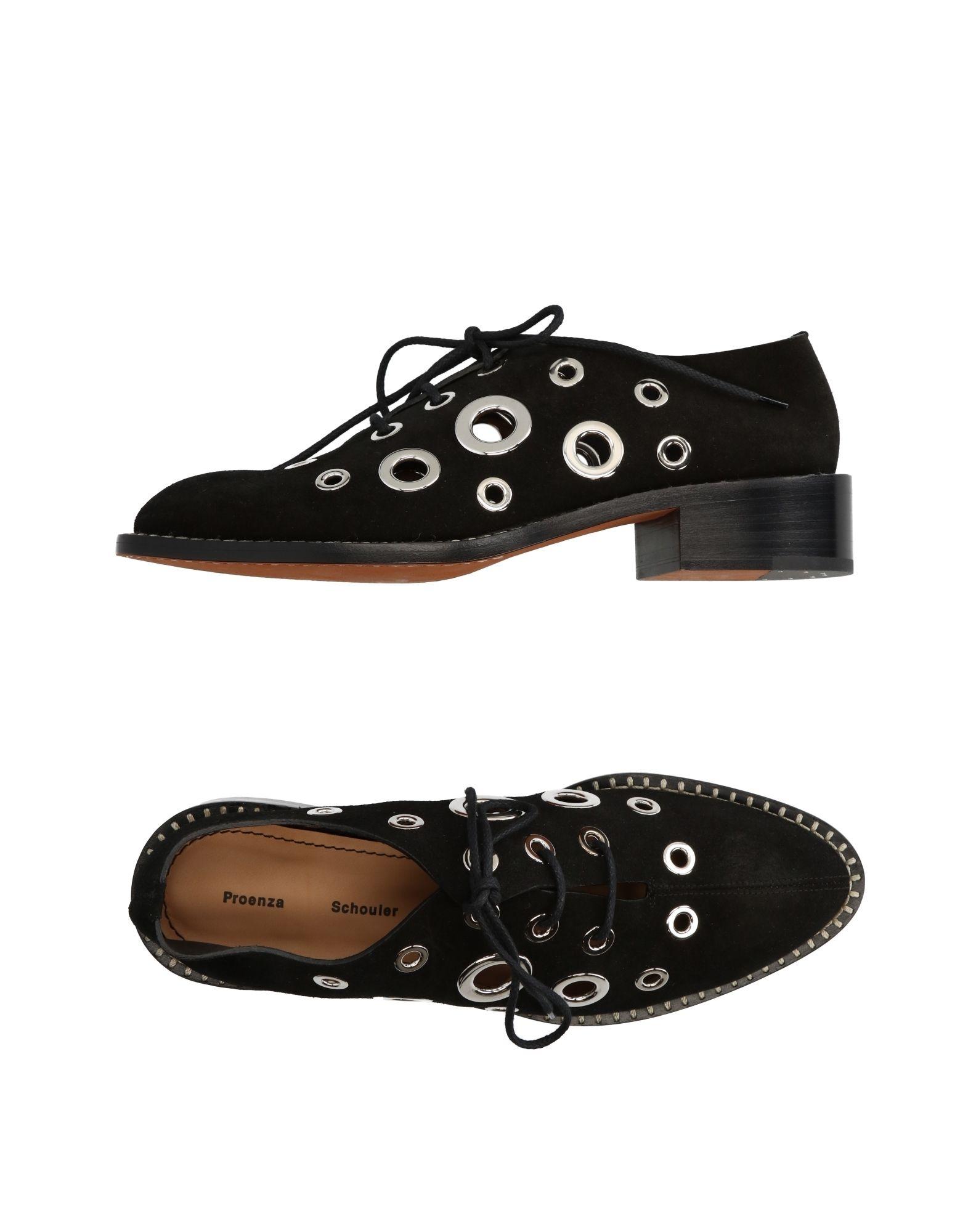 proenza schouler кожаные брюки PROENZA SCHOULER Обувь на шнурках