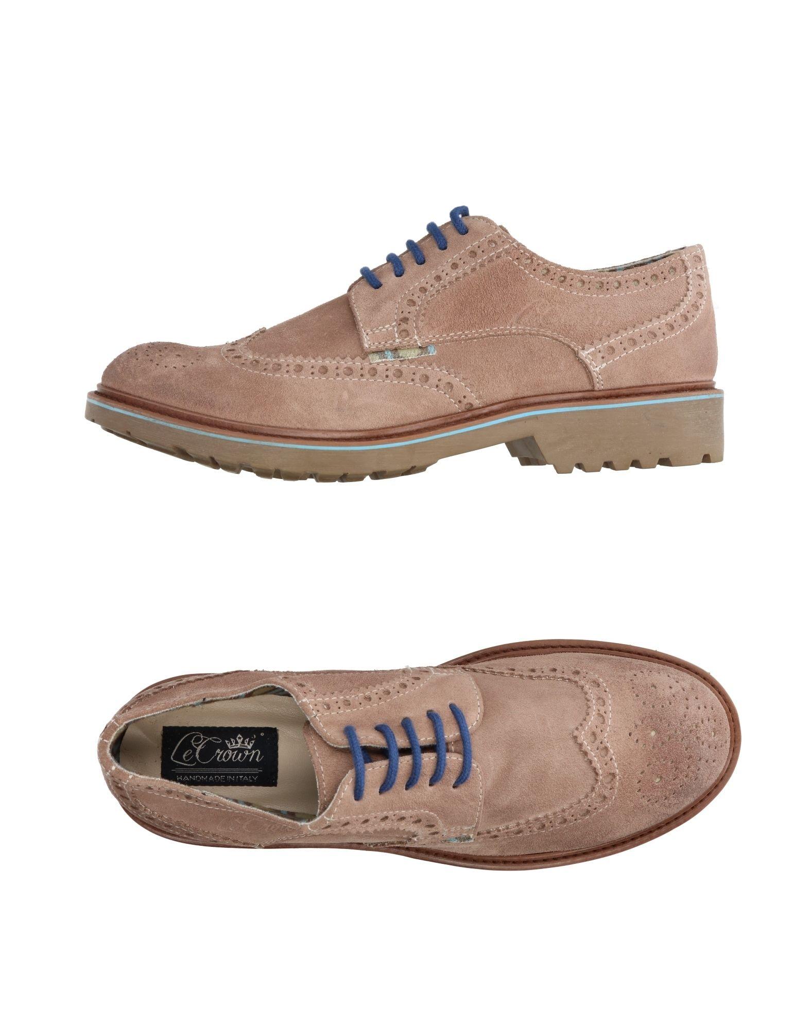 где купить LE CROWN Обувь на шнурках по лучшей цене