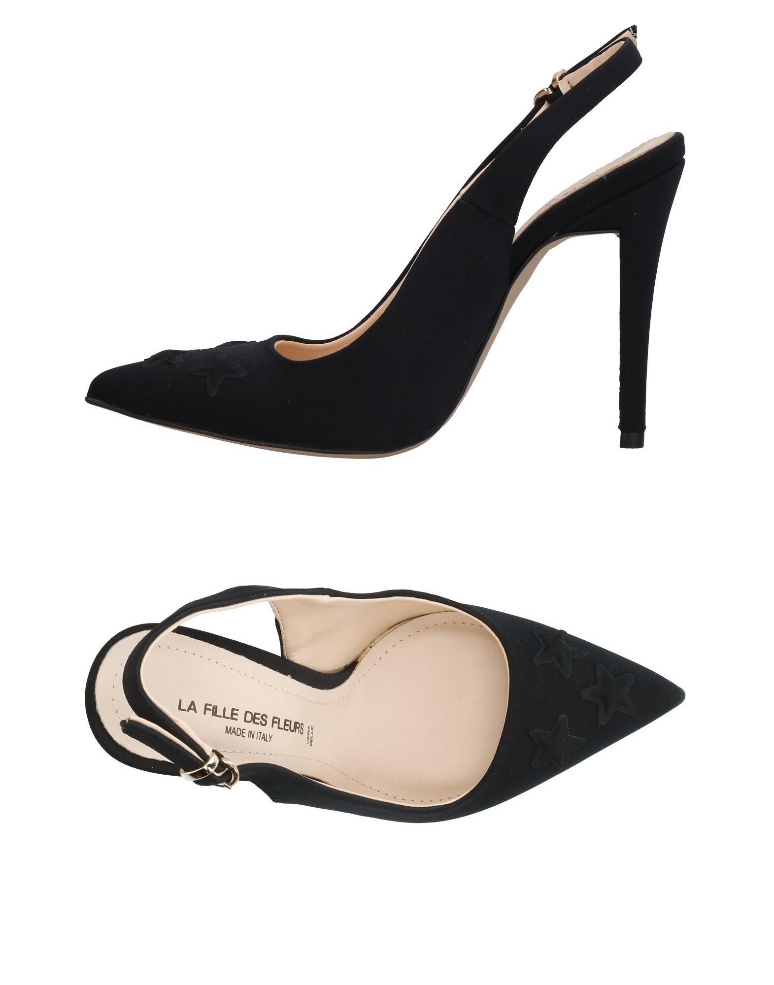LA FILLE des FLEURS Туфли цены онлайн