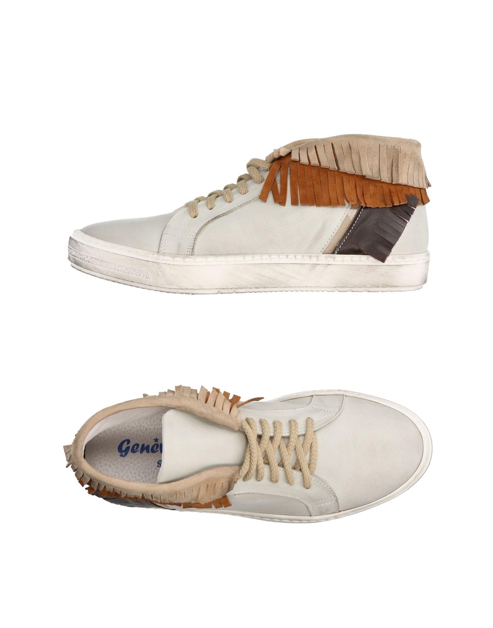 GENEVE Высокие кеды и кроссовки