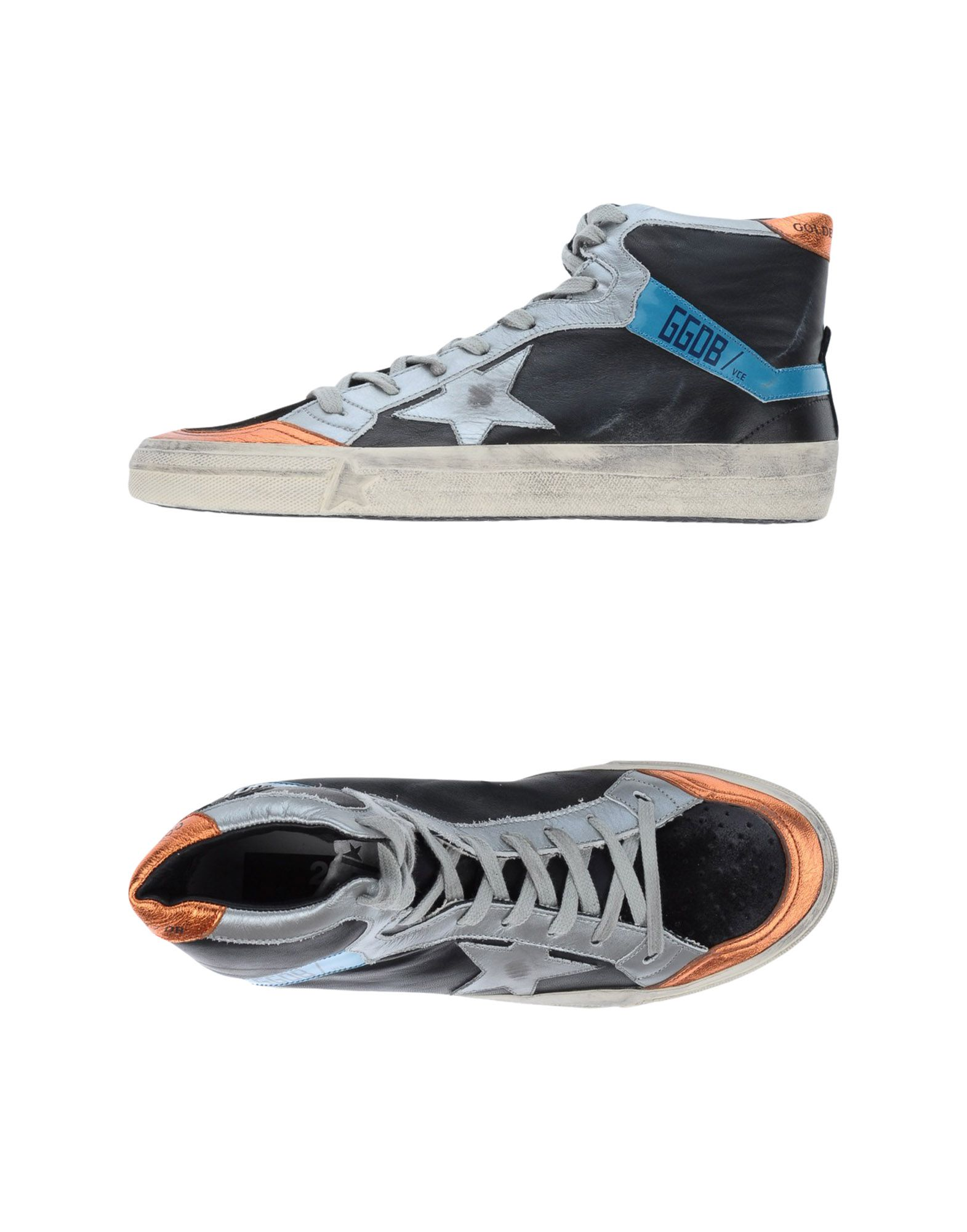 GOLDEN GOOSE DELUXE BRAND Damen High Sneakers & Tennisschuhe Farbe Schwarz Größe 3