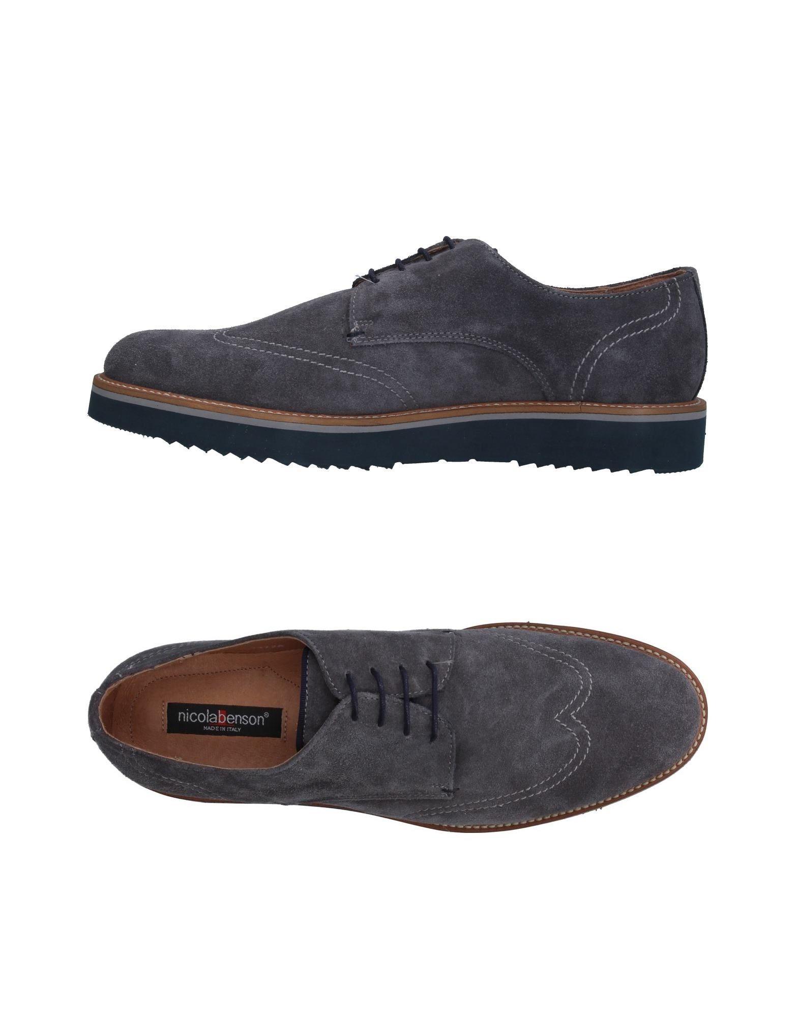 NICOLA BENSON Обувь на шнурках бра citilux аттика cl416311