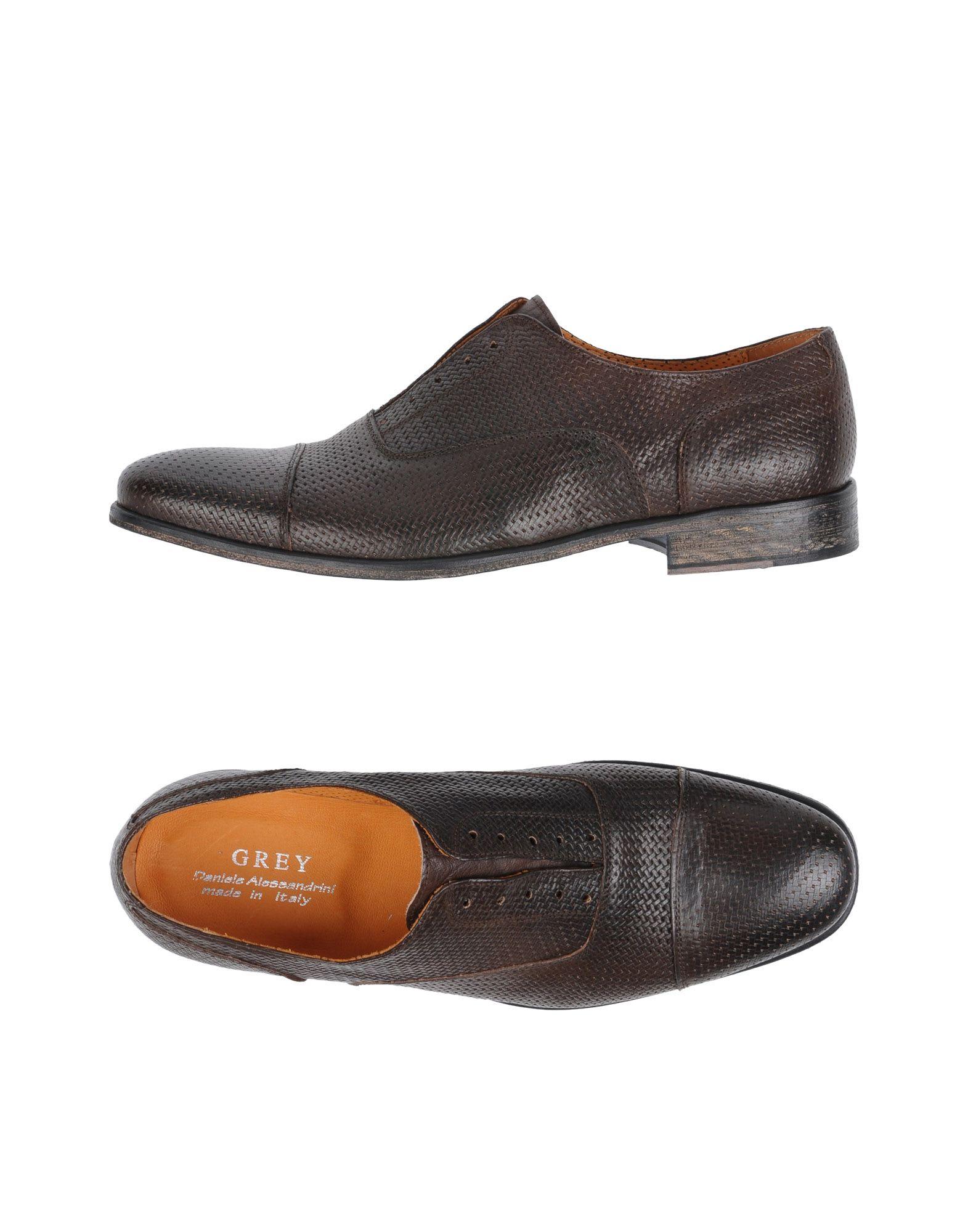GREY DANIELE ALESSANDRINI Обувь на шнурках водолазка daniele alessandrini