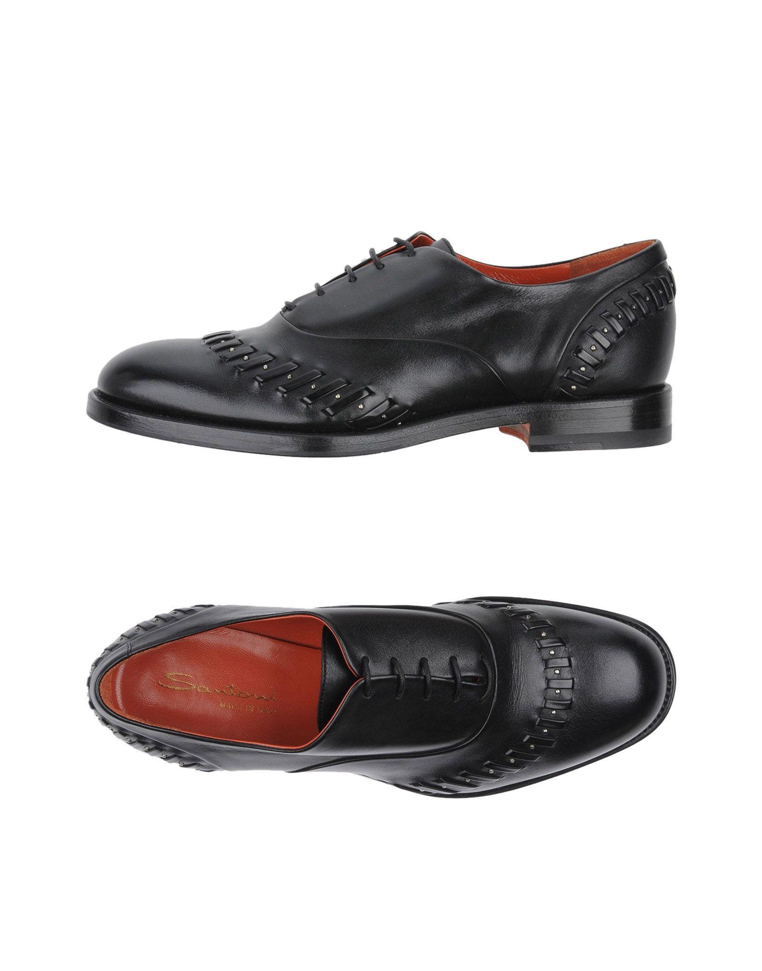 SANTONI Обувь на шнурках обувь из кожи на самуи где