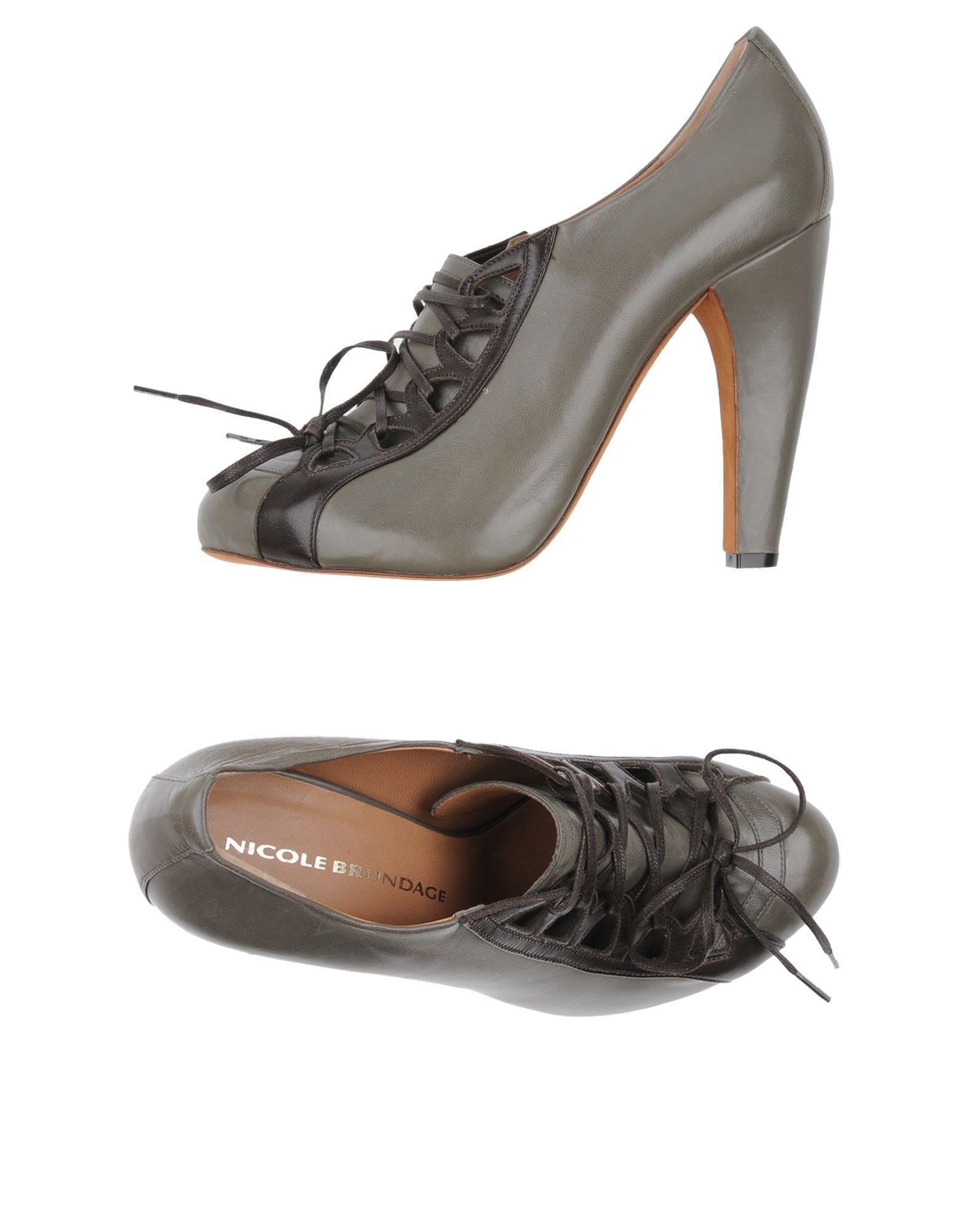 где купить  NICOLE BRUNDAGE Обувь на шнурках  по лучшей цене