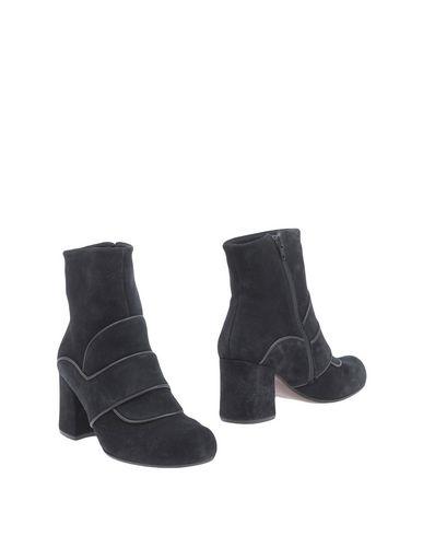 CHIE MIHARA Damen Stiefelette Schwarz Größe 37 Leder