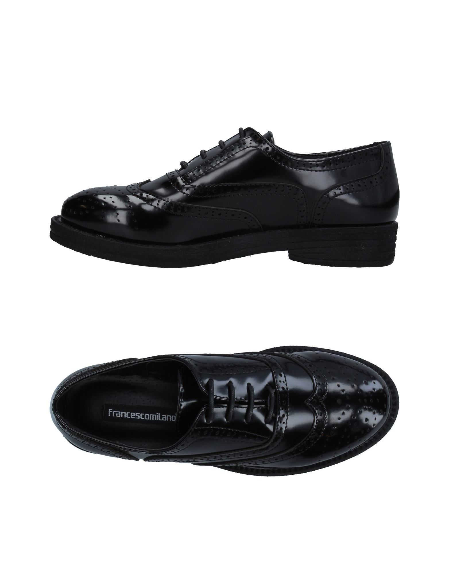 FRANCESCO MILANO Обувь на шнурках joyce milano обувь на шнурках