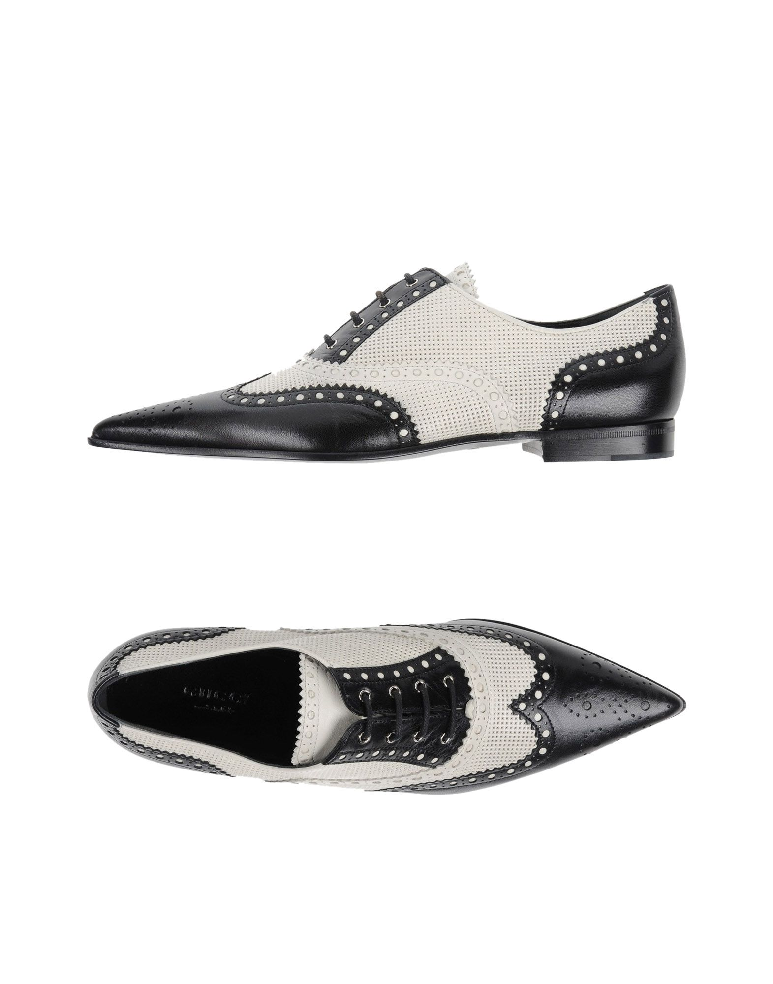 GUCCI Обувь на шнурках gucci кожаная сумка с цветами sylvie