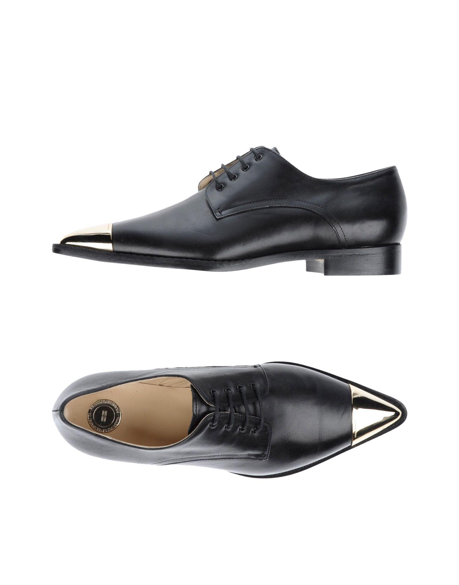 ELISABETTA FRANCHI Обувь на шнурках цены онлайн