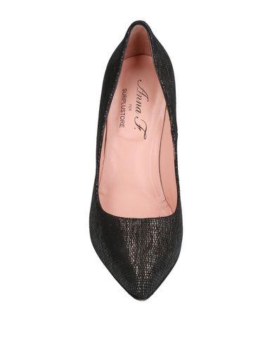 Фото 2 - Женские туфли ANNA F. черного цвета