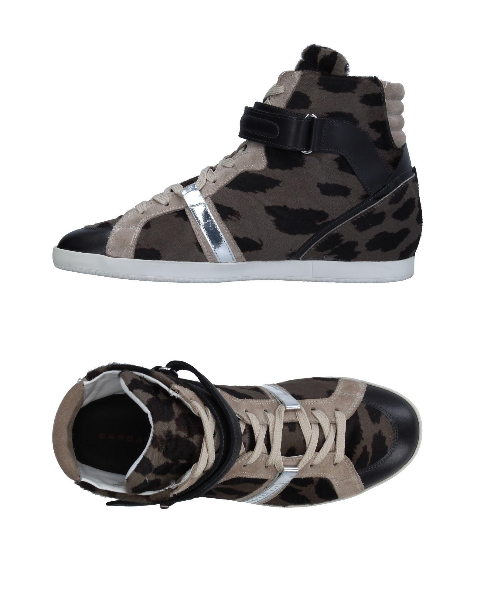 BARBARA BUI Damen High Sneakers & Tennisschuhe Farbe Militärgrün Größe 13