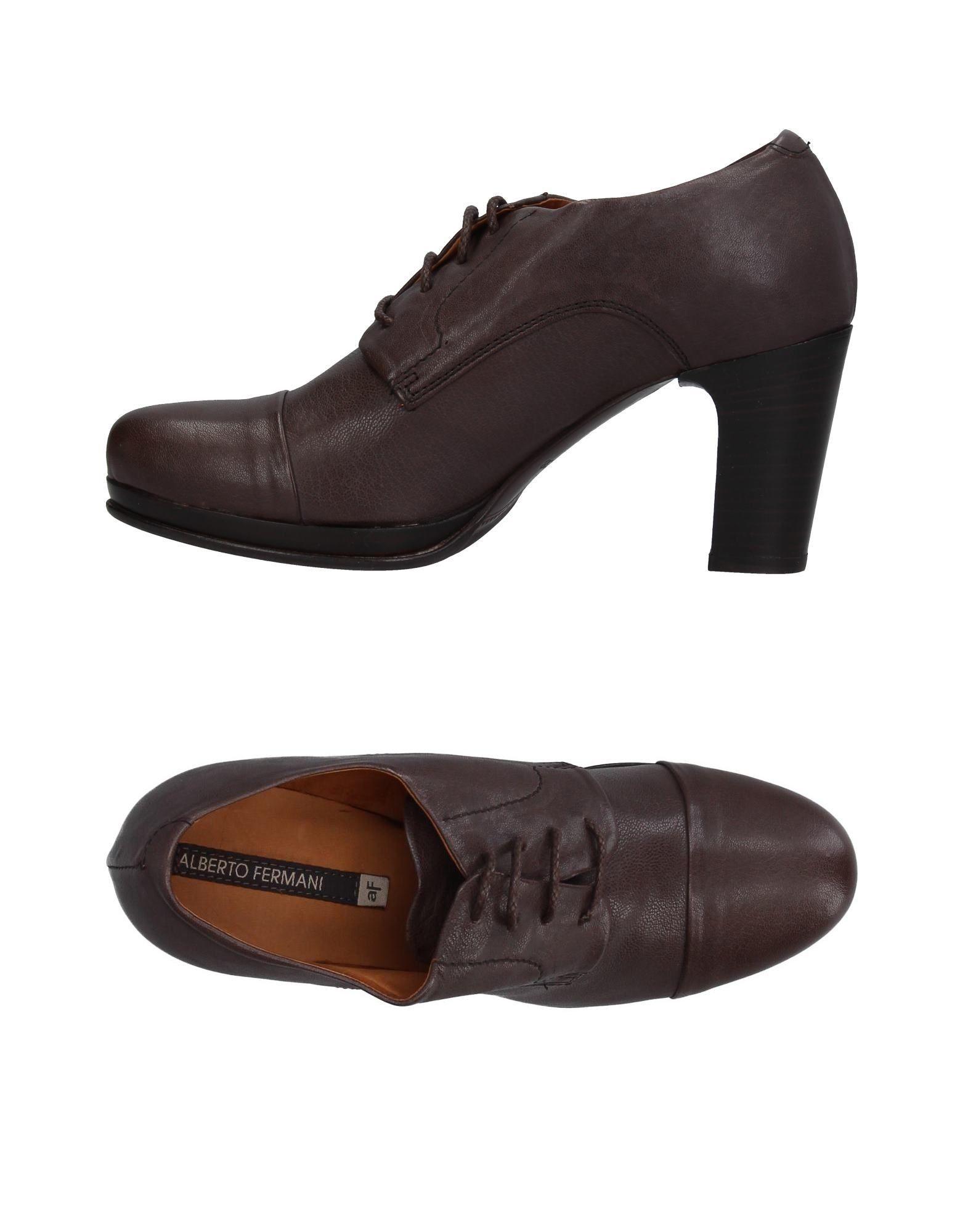 ALBERTO FERMANI Обувь на шнурках цены онлайн
