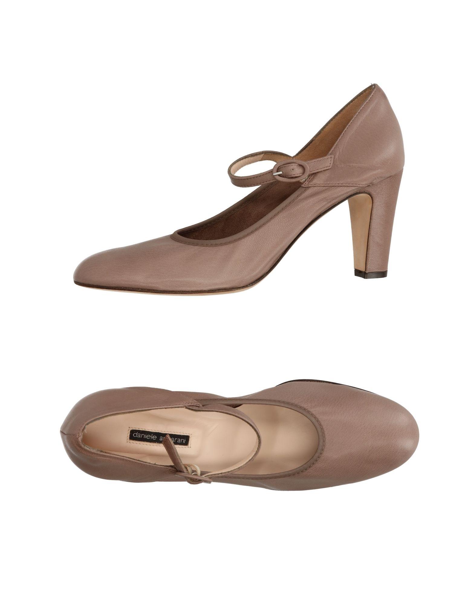 DANIELE ANCARANI Туфли daniele michetti daniele michetti брендовые туфли женские 83