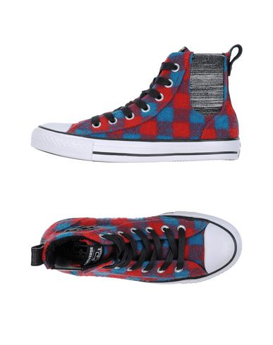 zapatillas WOOLRICH x CONVERSE ALL STAR Sneakers abotinadas mujer