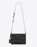 SAINT LAURENT Noe D NOE SAINT LAURENT crossbody bag in black moroder leather f
