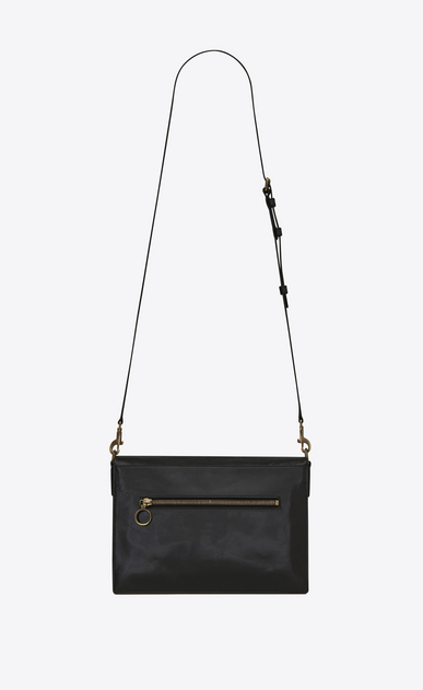 SAINT LAURENT Noe Woman NOE SAINT LAURENT crossbody bag in black moroder leather b_V4