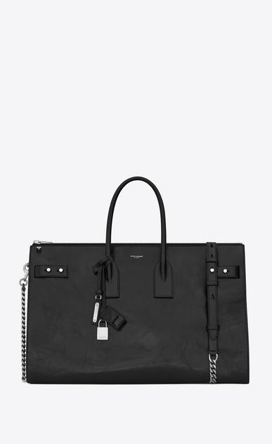 SAINT LAURENT Sac De Jour Supple D SAC DE JOUR SOUPLE 36 duffle bag in black moroder leather v4