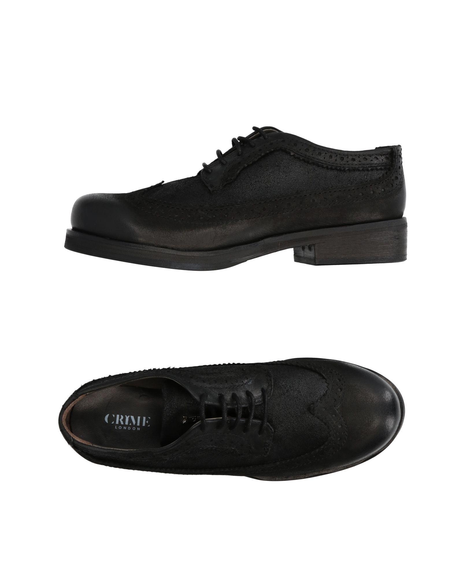 CRIME London Обувь на шнурках considering environmental war crime