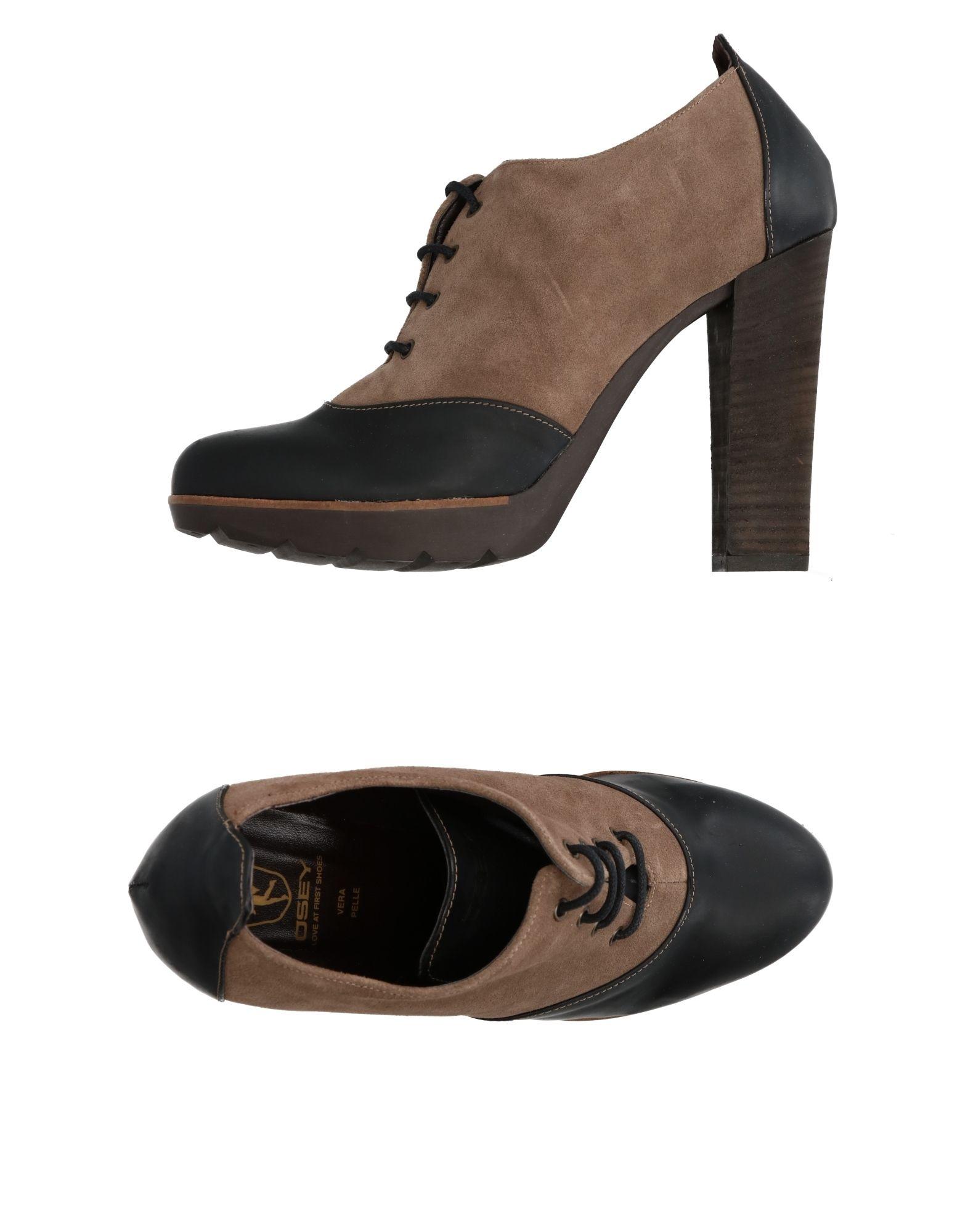 OSEY Обувь на шнурках цены онлайн