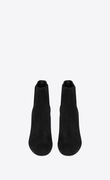 SAINT LAURENT Loulou D LOULOU 95 Chelsea ankle boot in black suede b_V4