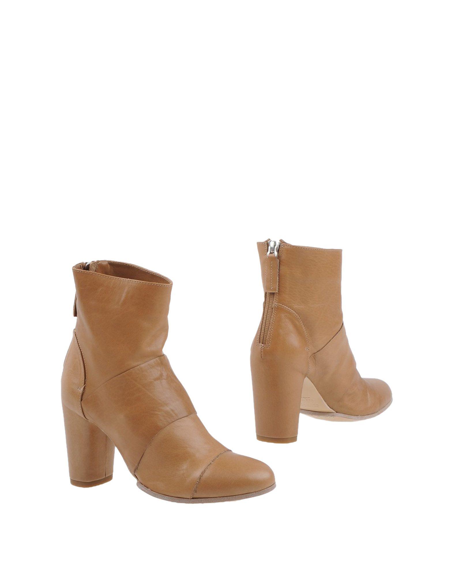 POMME D'OR Полусапоги и высокие ботинки цены онлайн