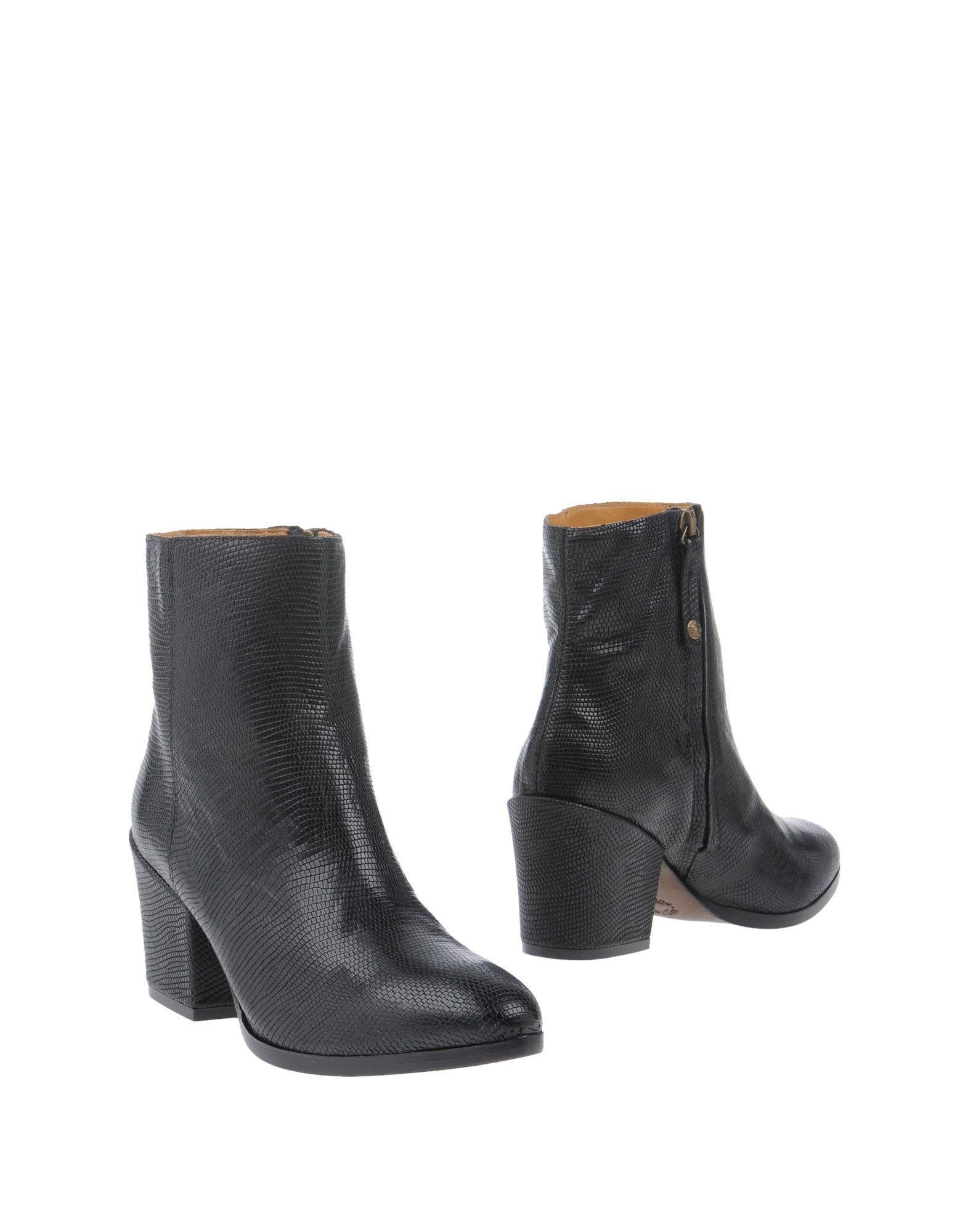 BUTTERO Damen Stiefelette Farbe Schwarz Größe 8
