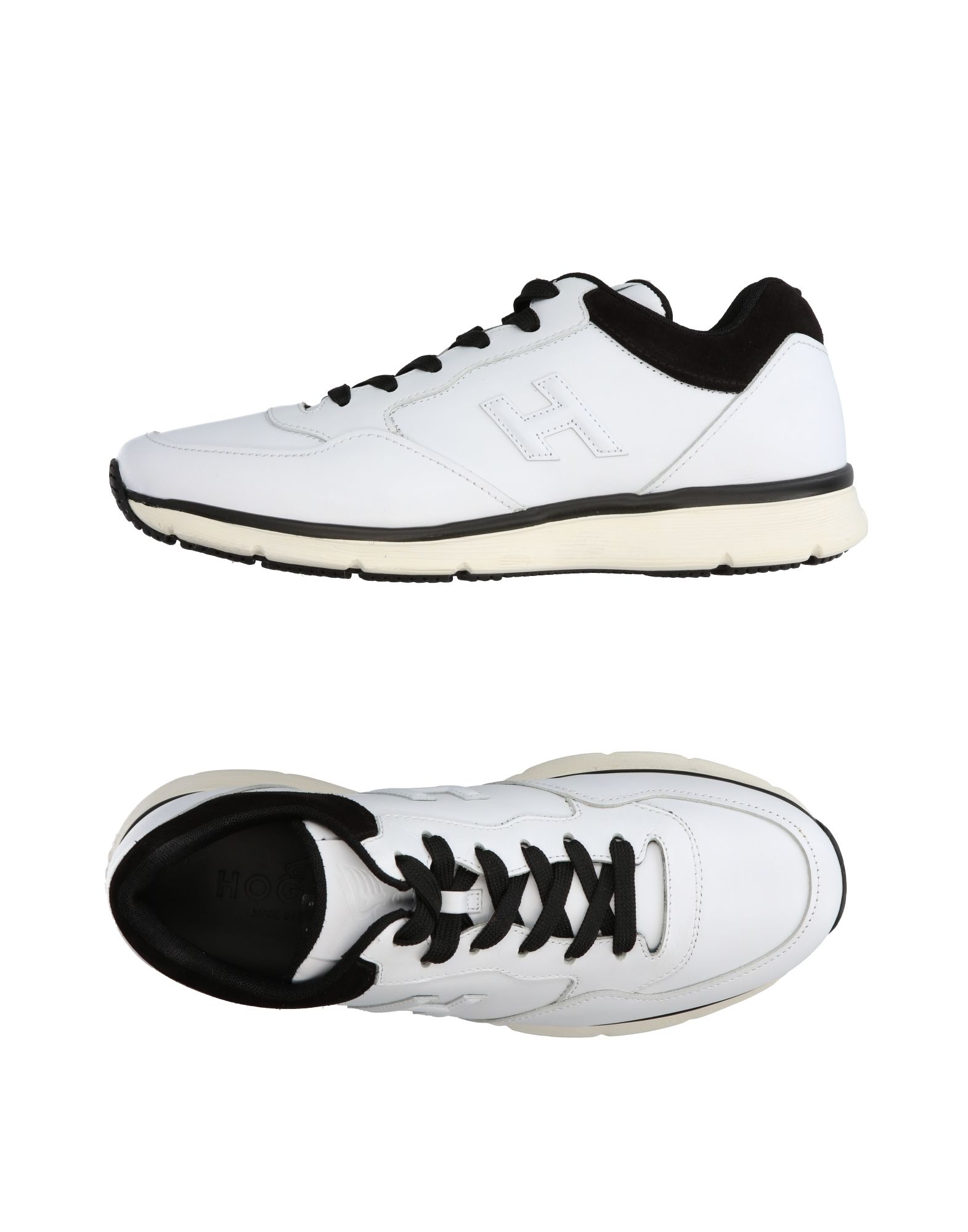 Фото HOGAN Низкие кеды и кроссовки. Купить с доставкой