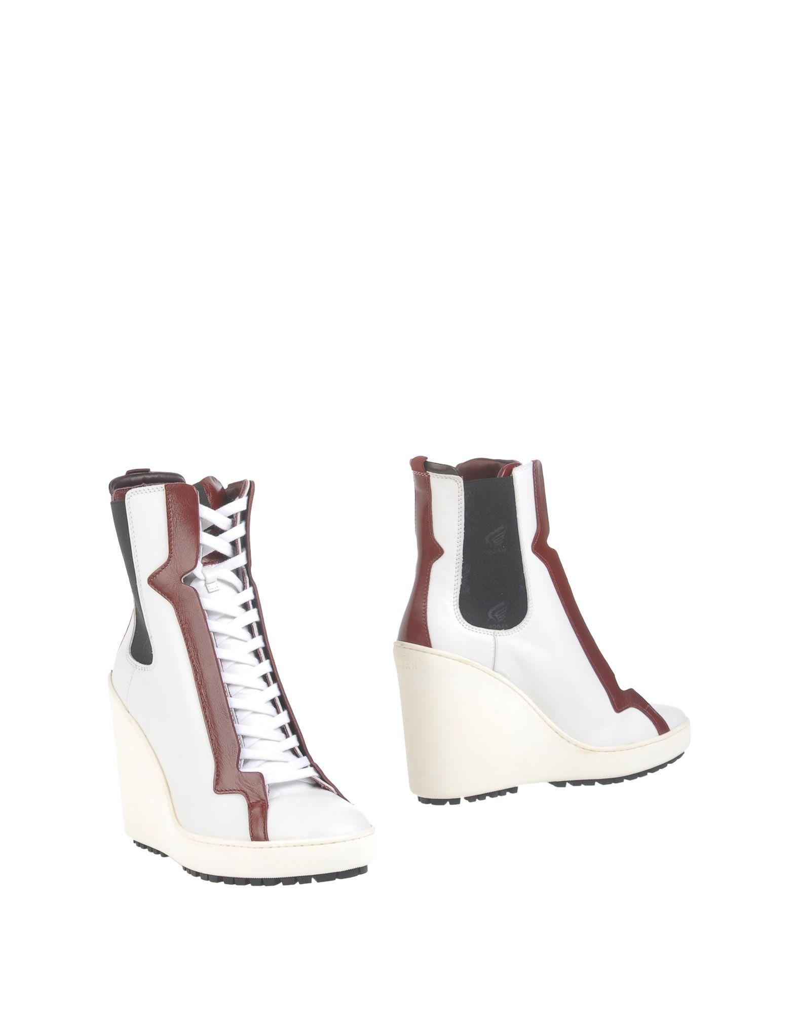 Фото HOGAN Полусапоги и высокие ботинки. Купить с доставкой